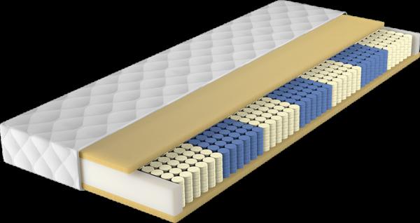 Maastricht pocketveer 3 cm natuur latex